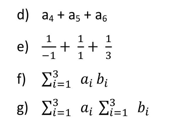 Aufgaben - (Mathe, Hausaufgaben, summenfunktion)