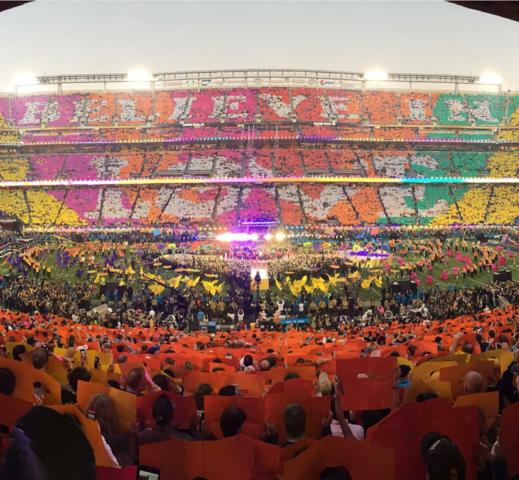 2016 - (Michael Jackson, Superbowl, Coldplay)