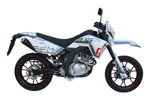 supermoto sachs zz 125 heck ndern motorrad moped. Black Bedroom Furniture Sets. Home Design Ideas