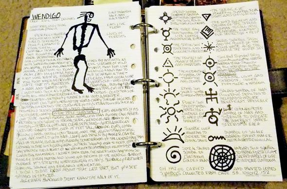 Johns Tagebuch - (basteln, Supernatural, nachmachen)