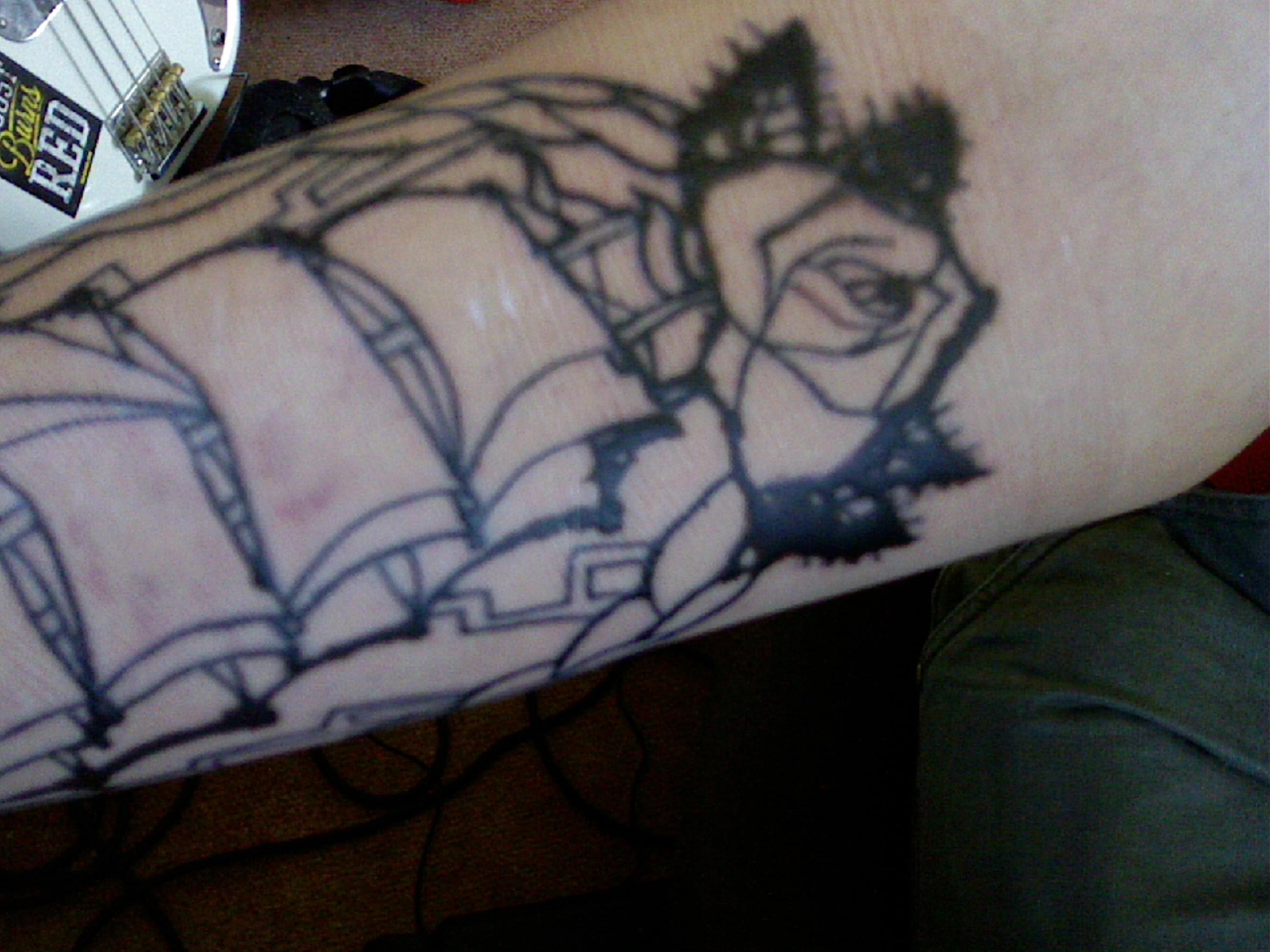 Astounding Tattoo Folie Entfernen Galerie Von