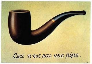 René Magritte (deutsch: Dies ist keine Pfeife) - (Kunst, Interpretation, Zeichnung)