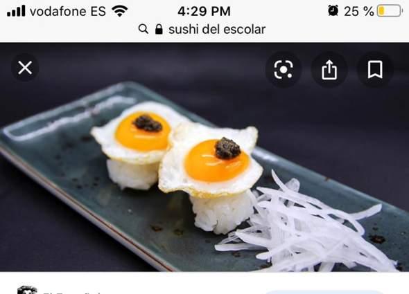 Sushi, was ist das oben drauf?