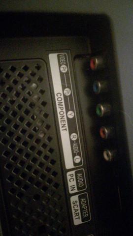 S/W Bild bei der Gamecube über Flachbildfernseher?