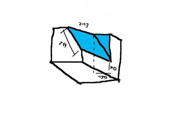 Es geht um die Hellblau markierte Schräge (: - (PC, Mathe, Programm)