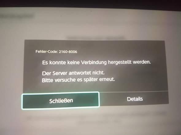 Switch WLAN Verbindung bricht ab?