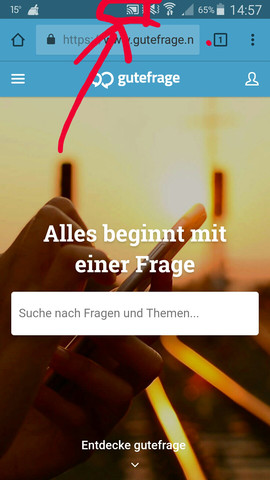 Symbol im roten Kreis  - (Handy, Technik, Smartphone)