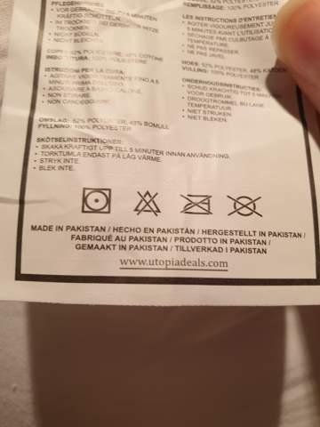 Symbole auf dem Kissen?