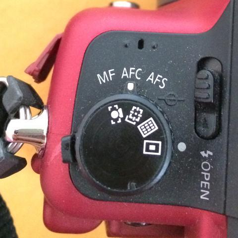 Linke seite der kamera - (Kamera, Symbol)