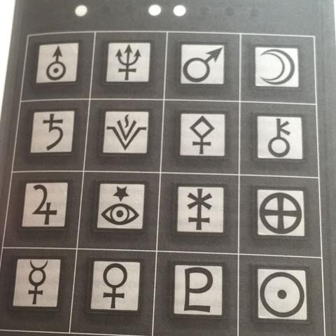 Das sind die Symbole  - (Computer, Symbol, griechisch)