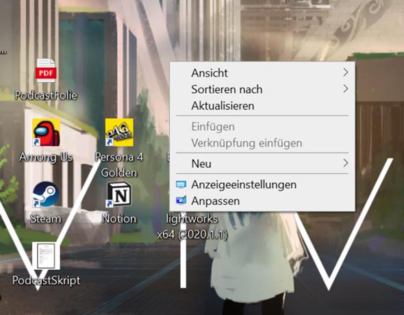 Symbole/Text/Google alles zu Groß (Windows10)?