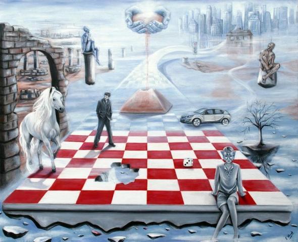 Symbolik In Der Kunst Schachbrett Bedeutung Analyse Interpretation