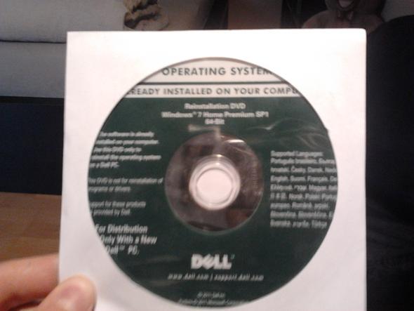 CD - (Computer, Windows 7, System)
