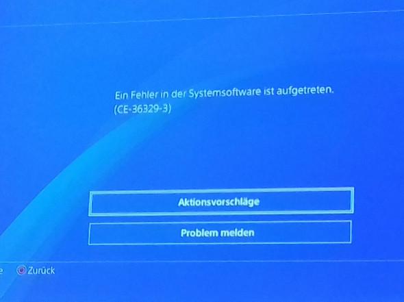 Ps4 Systemsoftware Fehler