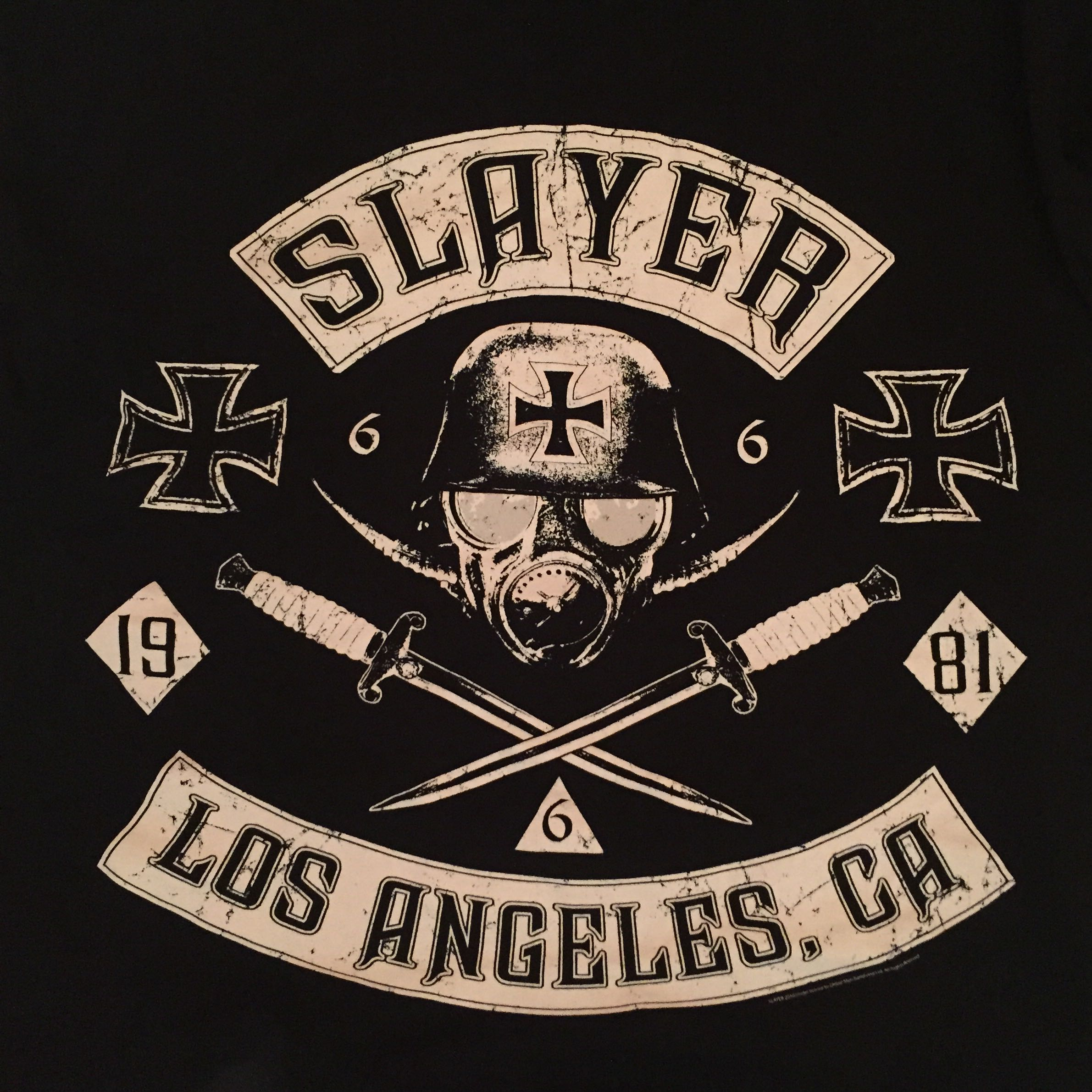 T-Shirt Bedeutung? (Metal, Nazi, slayer)