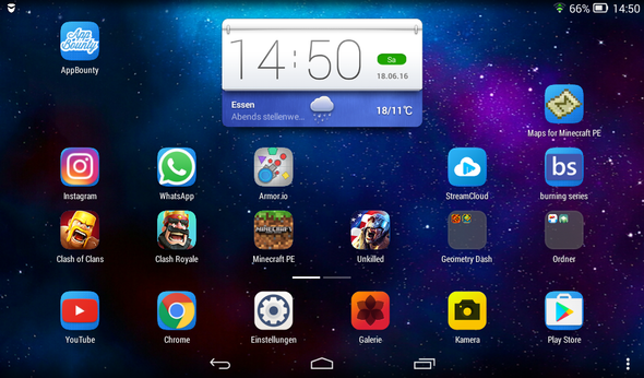 Mein Screen (ich nutze es hauptsächlich zum spielen) - (Android, App, Tablet)