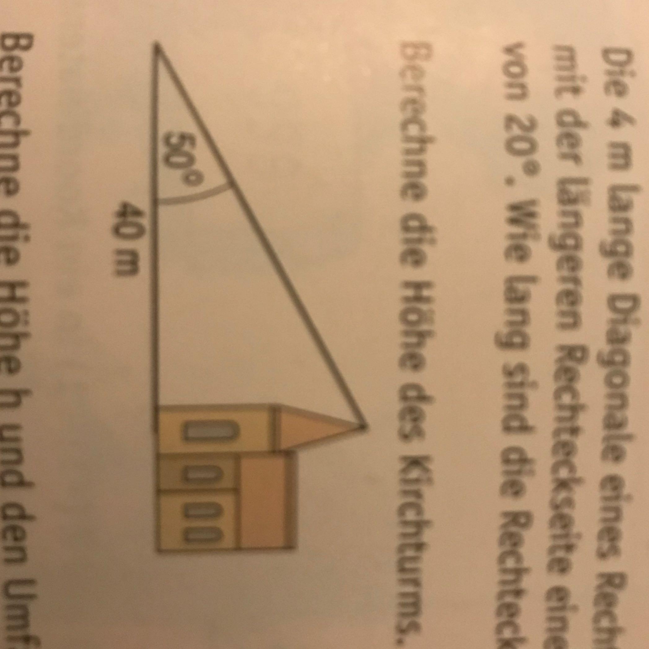 tangens berechnen in mathe trigonometrie schule lehrer. Black Bedroom Furniture Sets. Home Design Ideas