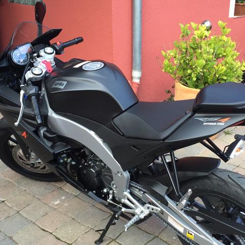 Tankpad für neues Motorrad?