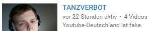 angeblich 4 Videos - (Youtube, tanzi)