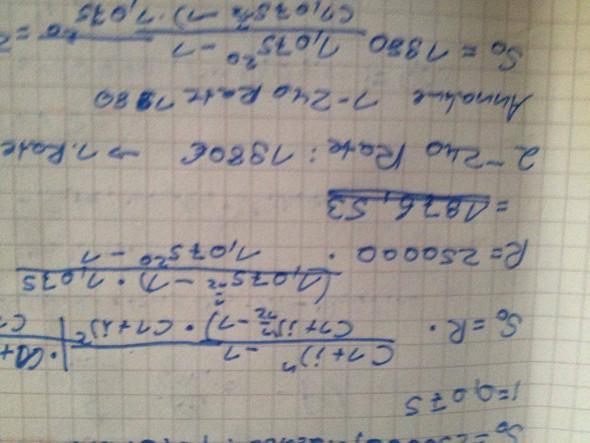 Richtiges Ergebnis - (Mathematik, Taschenrechner)