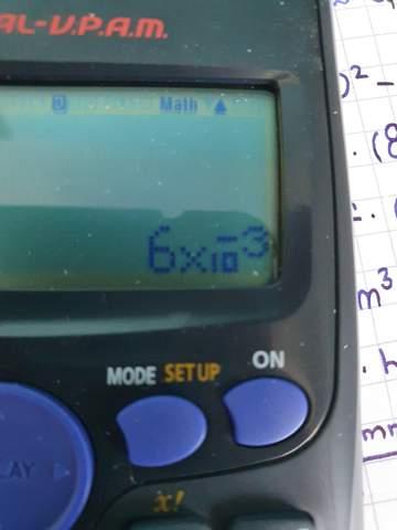 Taschenrechner: wie rechnet man das um?