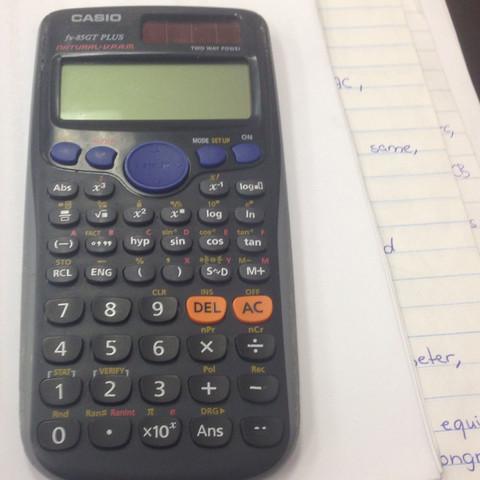 Mein Taschenrechner  - (Mathe, Rechnen, Taschenrechner)