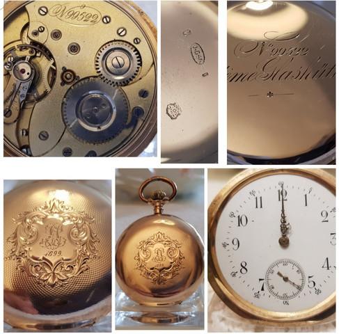 Taschenuhren in Gold 585 wer kann mir den Verkaufs Wert sagen?