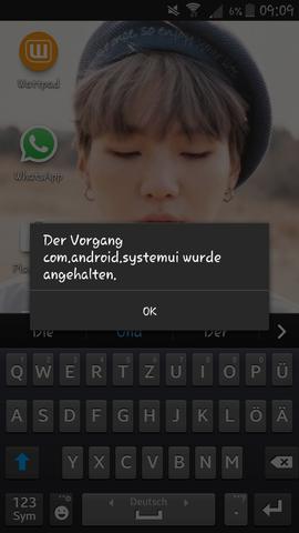 Das steht immer wenn ich versuche den Task Manager zu verwenden. - (Handy, Samsung, Android)