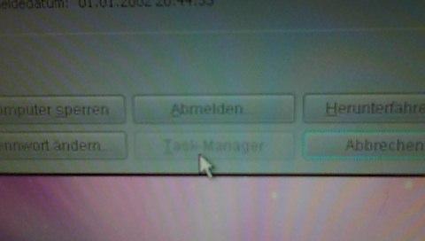 Taskmanager geht nicht - (Fehler, Taskmanager)
