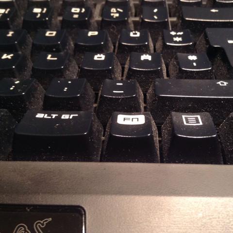 Hier ist die Tastatur  - (Computer, Technik, Gaming)