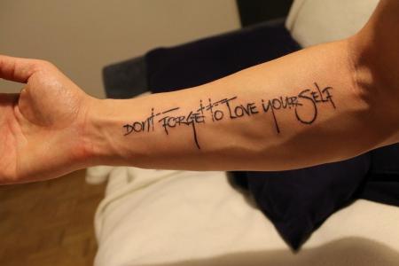Zeig mir das tattoo - 1 part 7