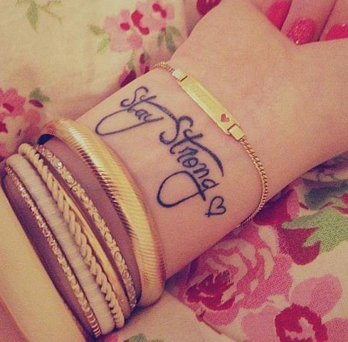 Handgelenk - (Körper, Tattoo)