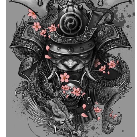 tattoo bedeutung samurai oni japan drachen symbolik. Black Bedroom Furniture Sets. Home Design Ideas