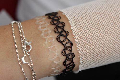 tattoo kette der 90er schmuck armband halskette. Black Bedroom Furniture Sets. Home Design Ideas