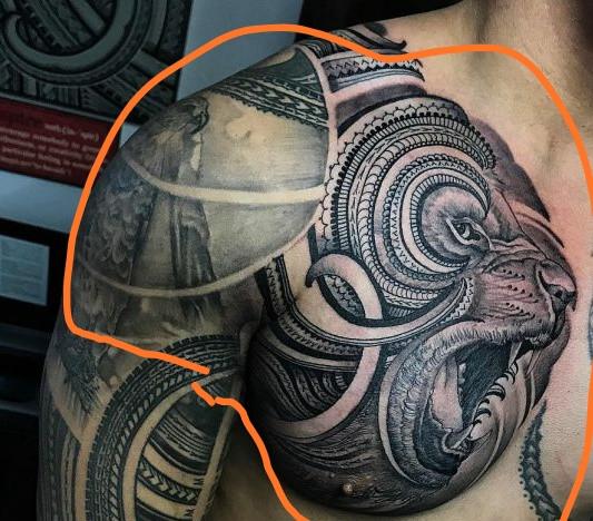 Tattoo mann brust Tattoo Ideen