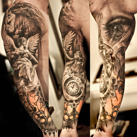 Tattoo gesammt - (Kosten, Tattoo, Körperkunst)