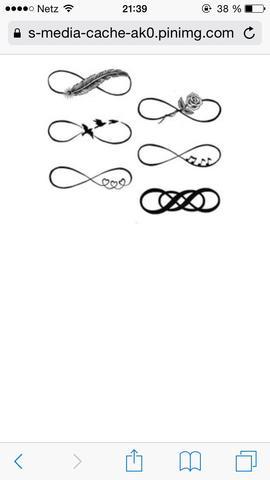 infinity - (Tattoo, motive)