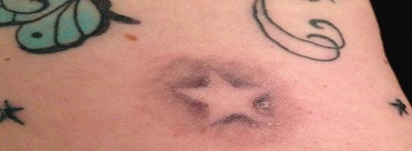 Stern ohne Linien  - (Tattoo, Sterne)