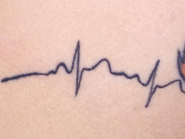Herzlinie - (Tattoo, Tätowieren)