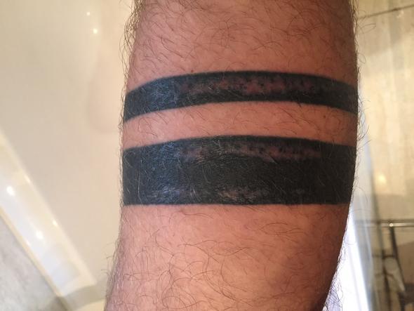 Die helleren stellen - (Haut, Tattoo)