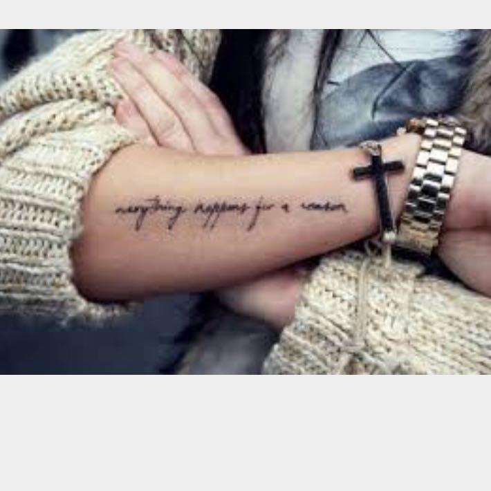 tattoo sprüche unterarm englisch