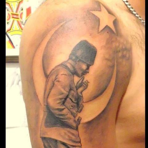 Atatürk Tattoo  - (Religion, Islam, Tattoo)