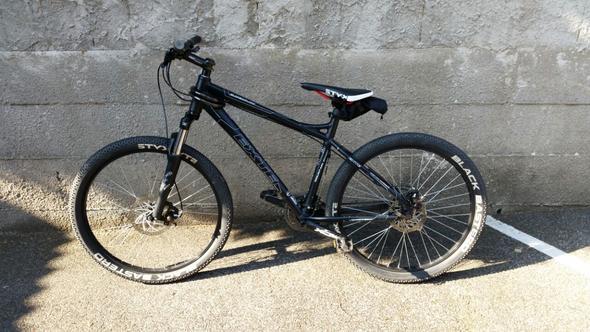 Seidenansicht  - (Fahrrad, Downhill, Berge)