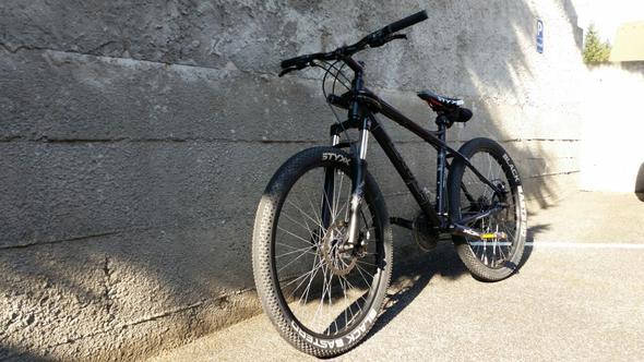 Von vorne - (Fahrrad, Downhill, Berge)