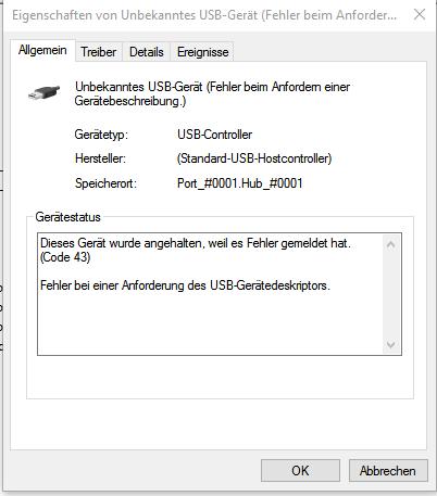 Gerätemanager - (Mikrofon, tbone SC 440)