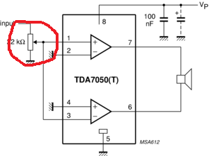 TDA7050 Mono - (Hobby, Elektrik, Elektrotechnik)
