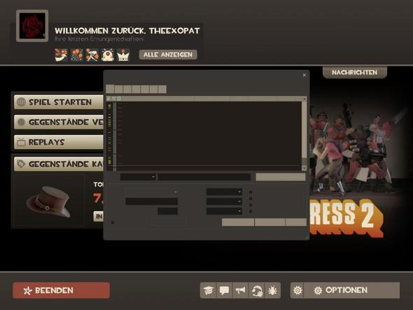 Die Serverauswahl - (Menü, Valve, Team Fortress 2)