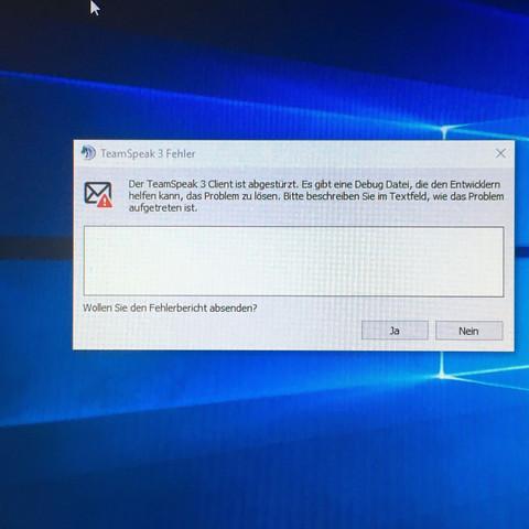Ich hoffe, man kann das einigermaßen lesen xD - (Download, Windows 10, Teamspeak)