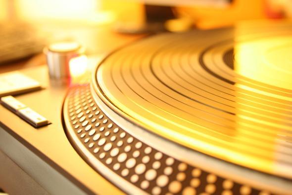 Muster Plattenteller - (DJ, Plattenspieler, Vinyl)