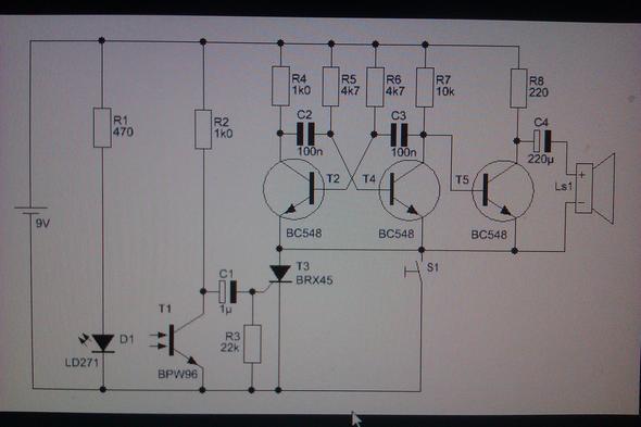 Bild 1 --> Schaltplan  - (Technik, Alarmanlage, FIP)